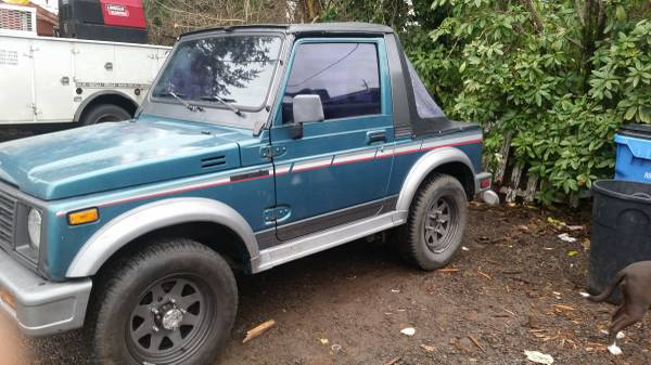 1987 suzuki samurai hardtop for sale in zapata texas. Black Bedroom Furniture Sets. Home Design Ideas