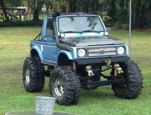 1987 Suzuki Samurai Convertible For Sale in Sarasota FL
