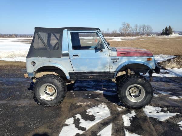 Restored 1987 Suzuki Samurai Special Edition For Sale in ...