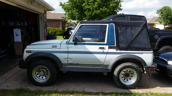 1988 suzuki samurai softop for sale in midlothian texas. Black Bedroom Furniture Sets. Home Design Ideas