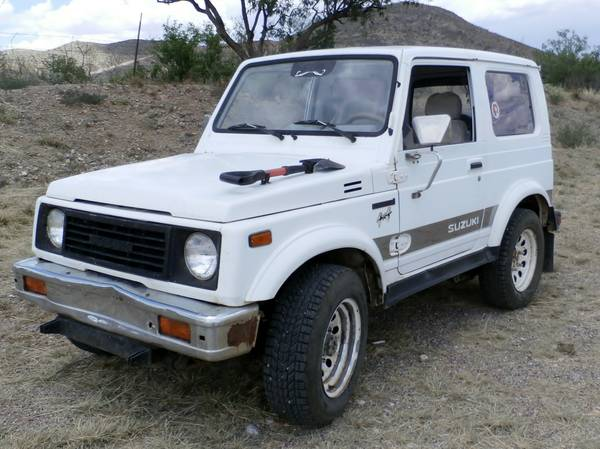 1988 Suzuki Samurai Hardtop For Sale In Bisbee Az