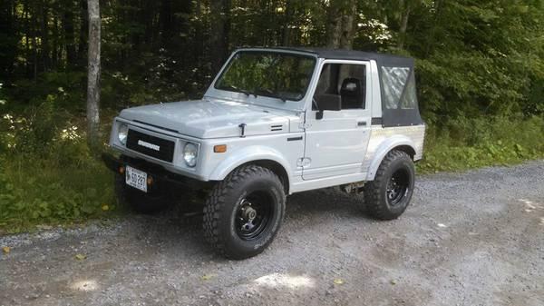 Built 1988 Suzuki Samurai Hard Top w/ Parts Rig For Sale ...