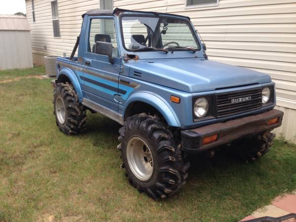 1987 suzuki samurai softop for sale in tyler texas. Black Bedroom Furniture Sets. Home Design Ideas