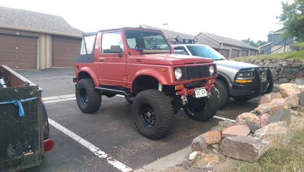 1986 suzuki samurai softop for sale in wylie texas. Black Bedroom Furniture Sets. Home Design Ideas