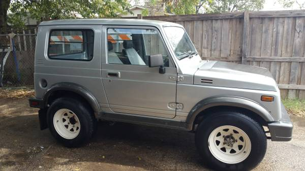 1987 suzuki samurai hardtop for sale in del valle texas. Black Bedroom Furniture Sets. Home Design Ideas