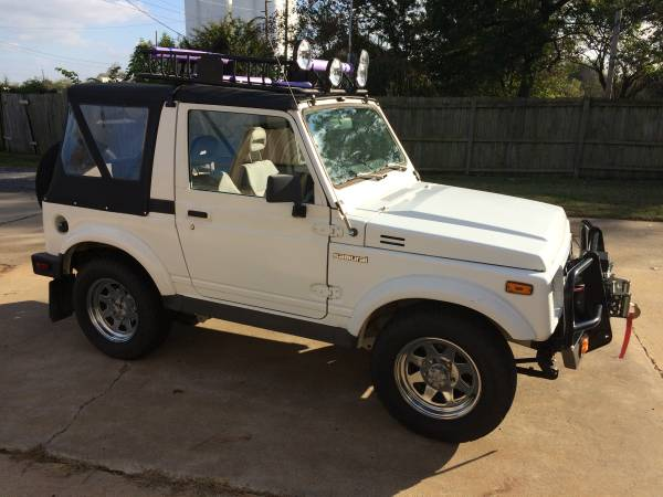 1988 suzuki samurai convertible for sale in amarillo tx. Black Bedroom Furniture Sets. Home Design Ideas
