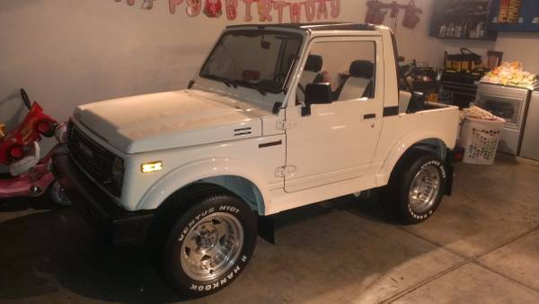 1987 Suzuki Samurai Softop For Sale In Sacramento California