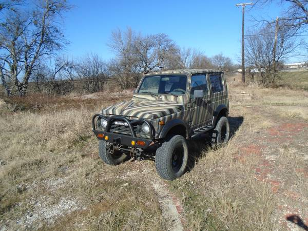 1988 suzuki samurai softop for sale in el paso texas. Black Bedroom Furniture Sets. Home Design Ideas