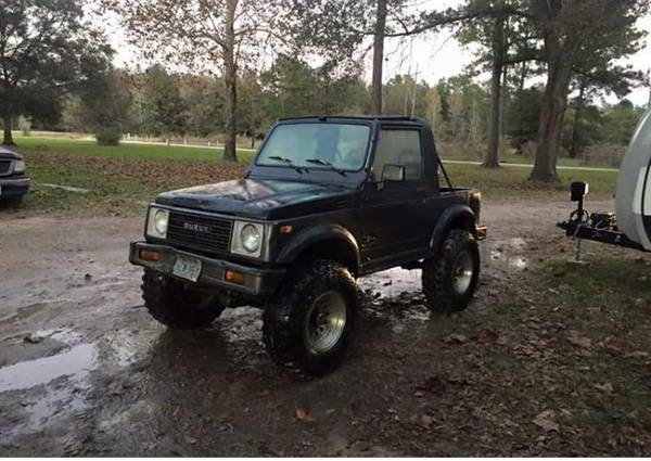 1989 suzuki samurai for sale in dayton texas. Black Bedroom Furniture Sets. Home Design Ideas