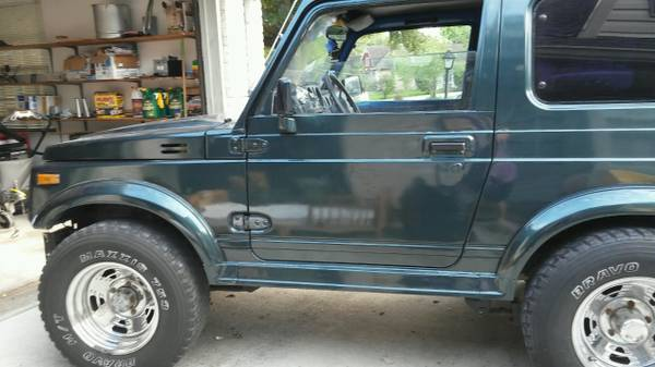 1987 suzuki samurai hardtop for sale in houston texas. Black Bedroom Furniture Sets. Home Design Ideas