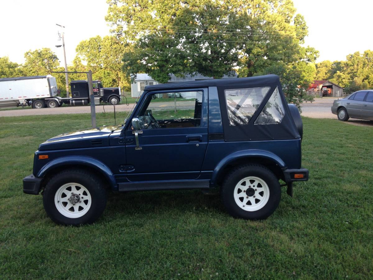 1985 Suzuki Samurai Soft Top For Sale in Myrtle, Missouri