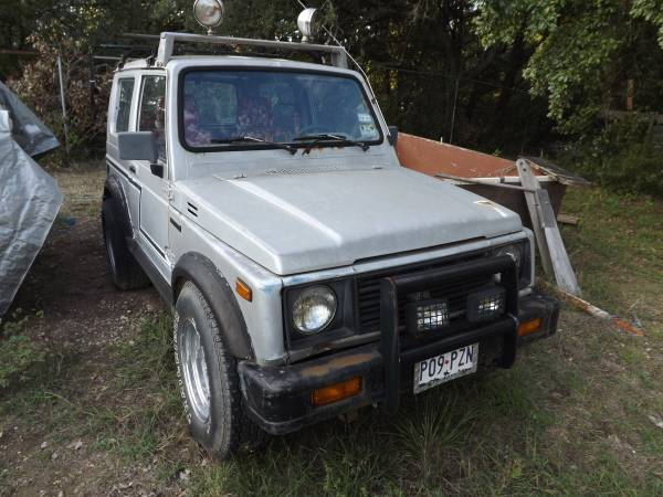 1986 suzuki samurai hard top for sale in canyon lake texas. Black Bedroom Furniture Sets. Home Design Ideas