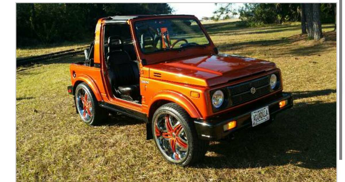 1987 Suzuki Samurai Soft Top For Sale in Jacksonville, Florida