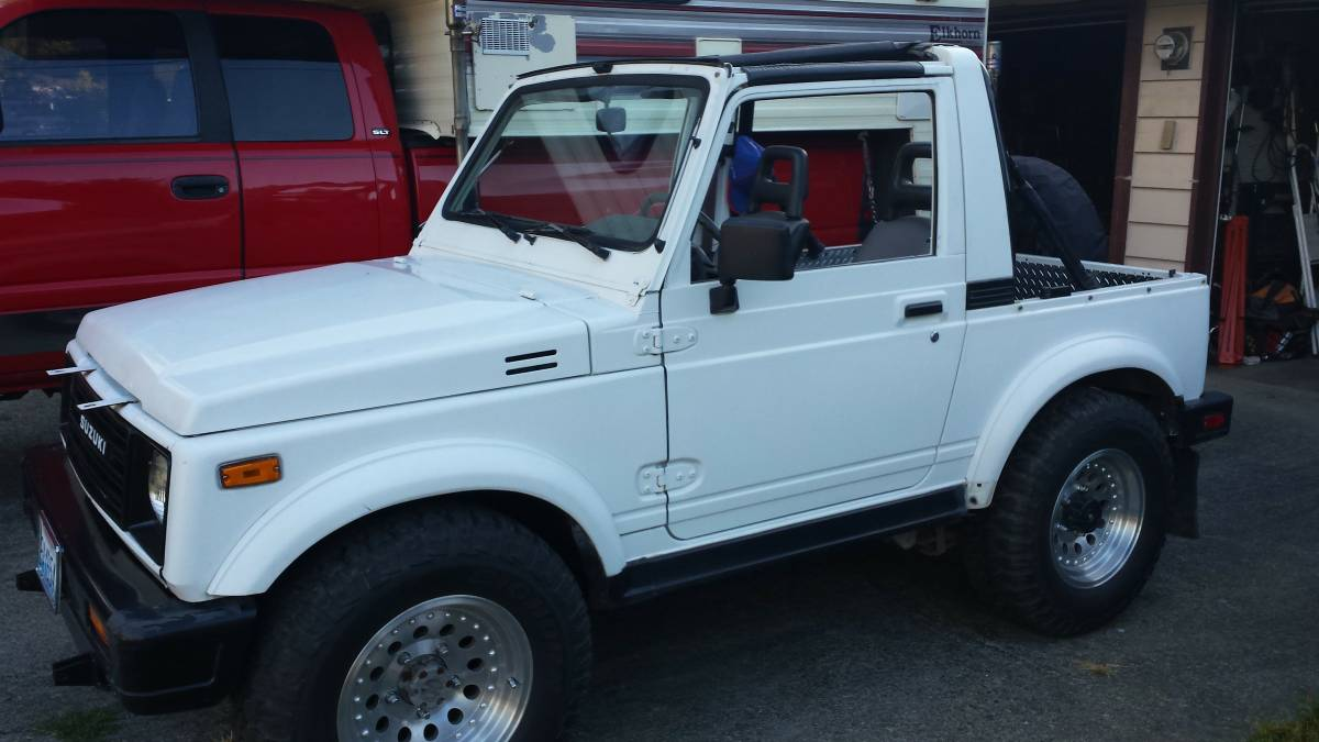 1987 Suzuki Samurai Convertible For Sale in Marysville ...