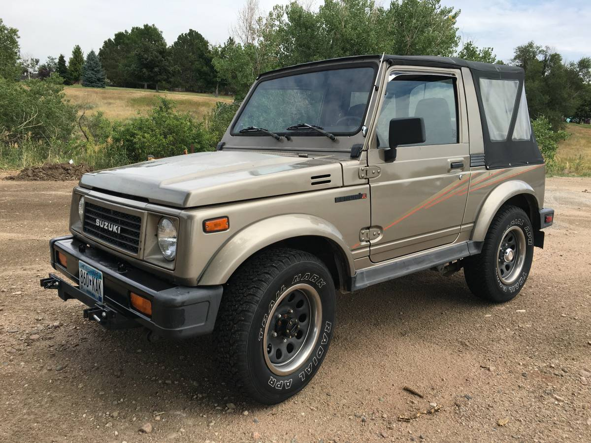 1989 Suzuki Samurai Soft Top For Sale in Centennial, Colorado