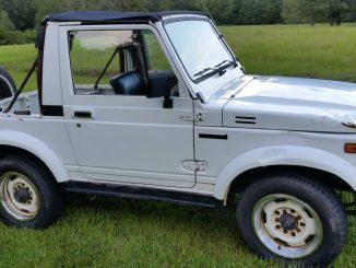 1991 Suzuki Samurai Soft Top w/ Warn Winch For Sale in ...