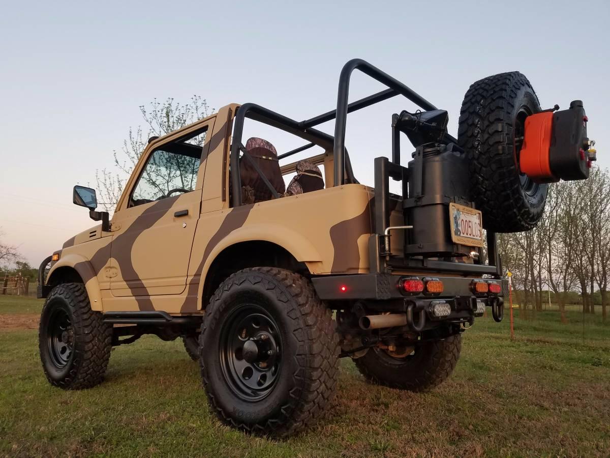 Restored 1987 Suzuki Samurai Special Edition For Sale In