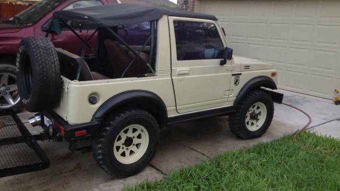 1988 suzuki samurai w safari top for sale in mcallen south tx. Black Bedroom Furniture Sets. Home Design Ideas