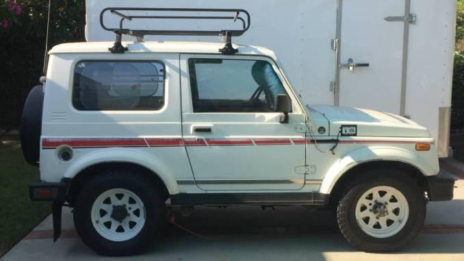 1987 Suzuki Samurai Jx Tin Top For Sale In West Hills La Area Ca