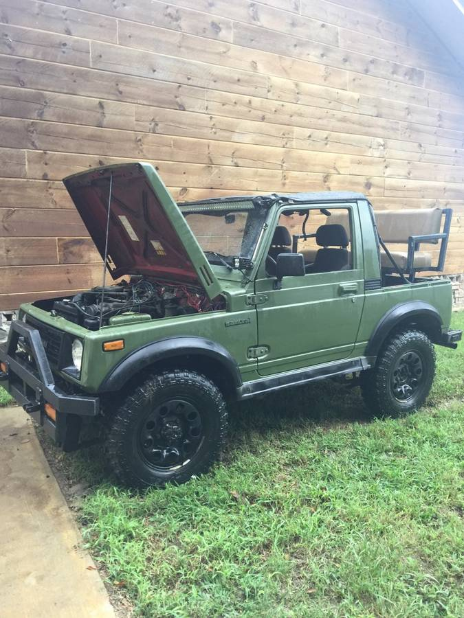 1988 Suzuki Samurai Safari Top w/ Swampers For Sale in Baton Rouge, LA