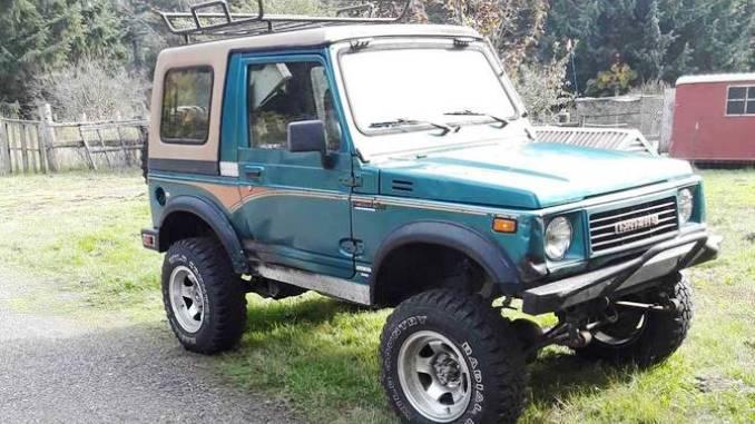 1988 Suzuki Samurai Hardtop For Sale in Olympia, WA