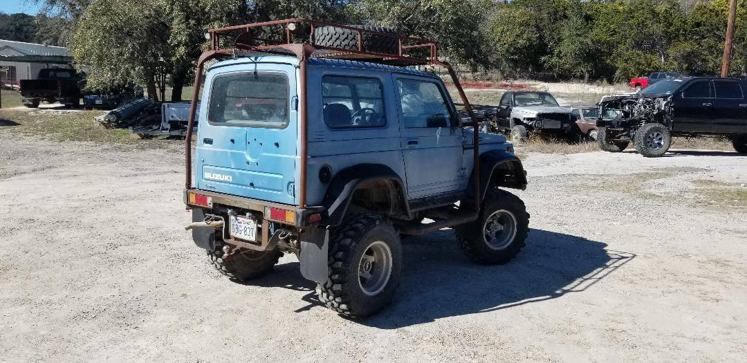 1987 Suzuki Samurai Hardtop For Sale in Kerrville, TX