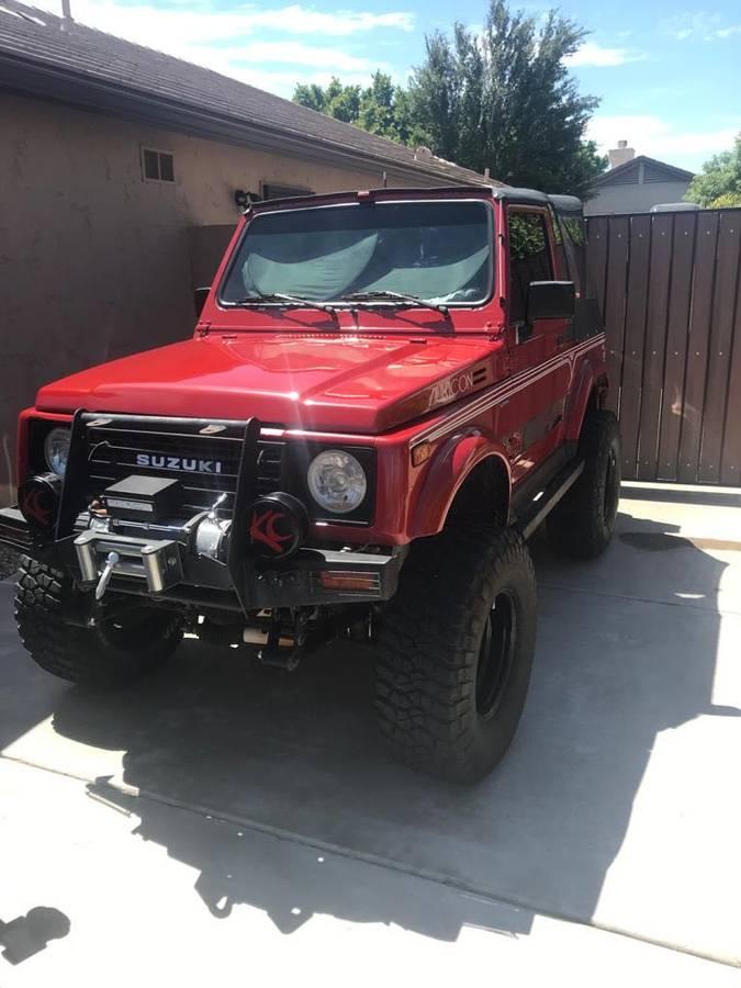 1988 Suzuki Samurai Soft Top For Sale in Glendale, AZ