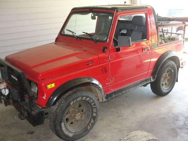 1988 Suzuki Samurai Hardtop For Sale in Dothan Alabama