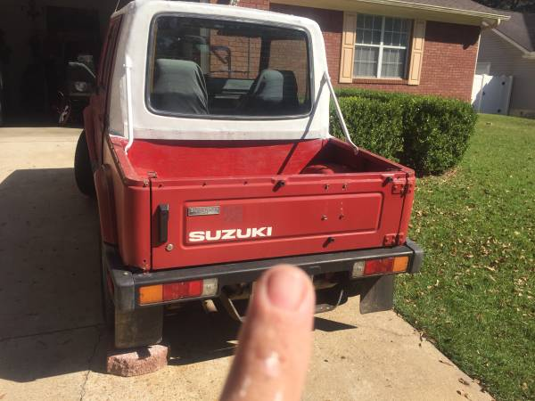 1988 Suzuki Samurai Softop For Sale in Enterprise, Alabama