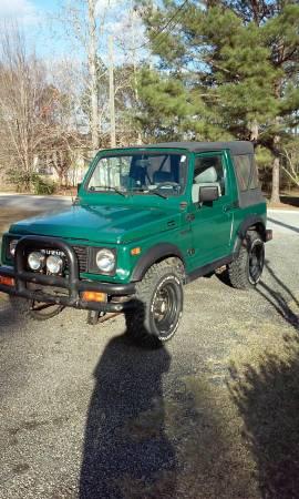 1987 Suzuki Samurai Softop For Sale in Thomasville, Georgia