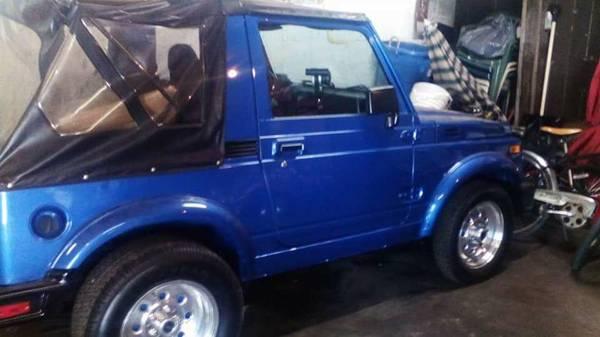 1987 Suzuki Samurai Softop For Sale in York, Pennsylvania