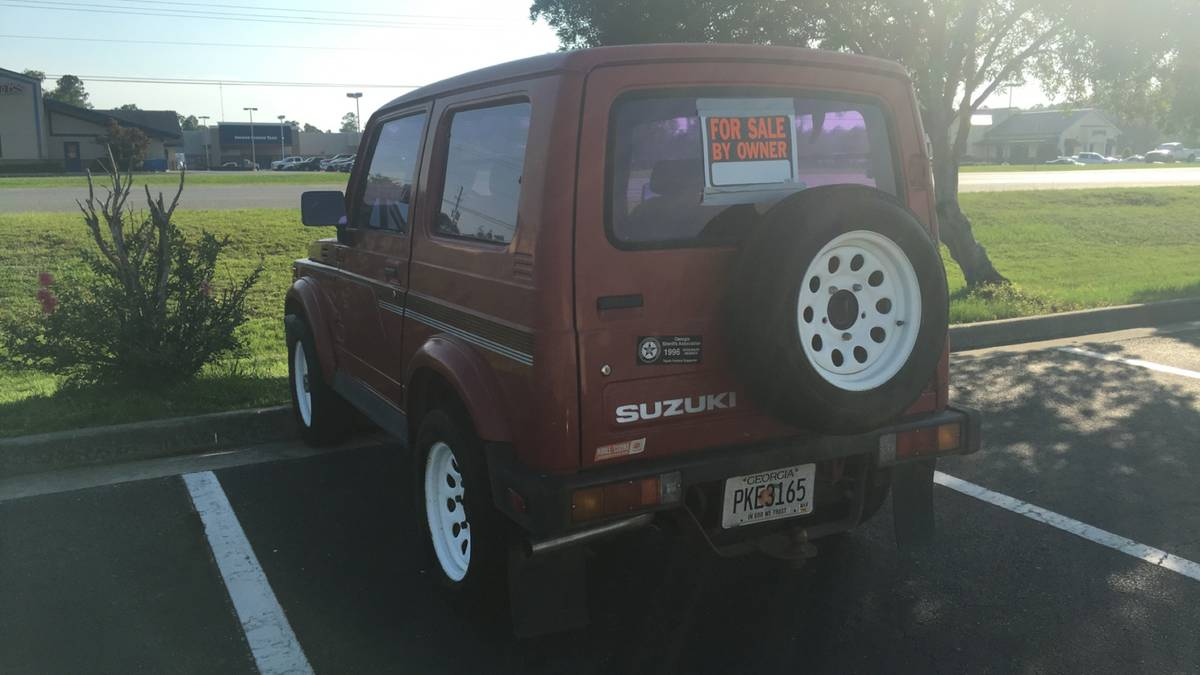 1987 Suzuki Samurai Hardtop For Sale in Brunswick, Georgia