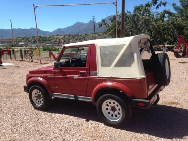 1988 Suzuki Samurai Soft Top For Sale in Payson, Arizona