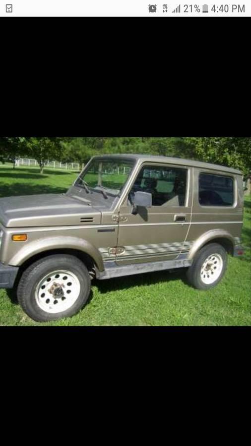 1988 Suzuki Samurai Hardtop For Sale in Bentonville, AR