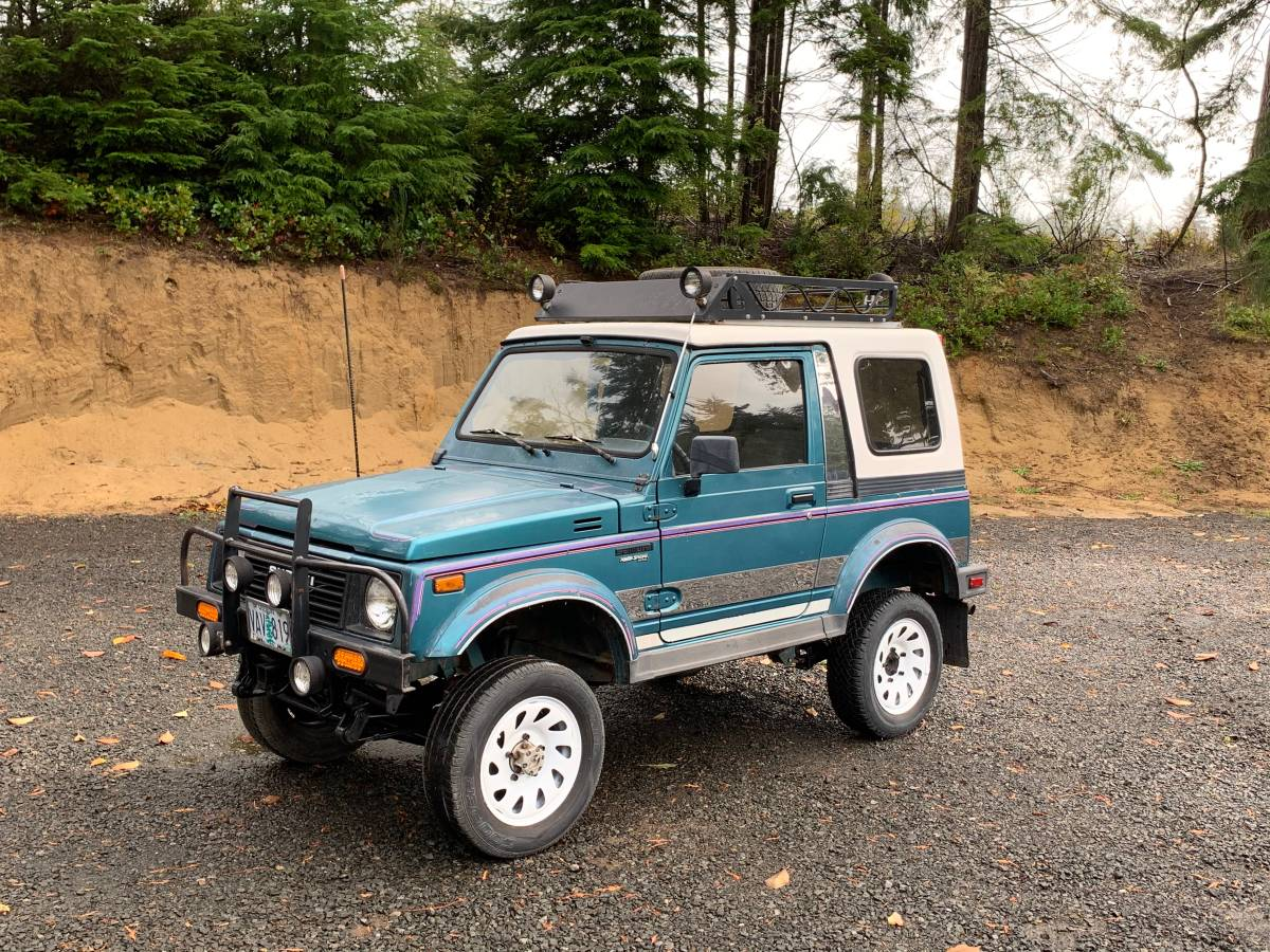 1987 Suzuki Samurai Hard Top For Sale in Florence, Oregon