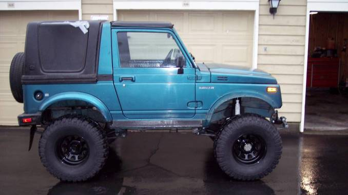 1988 Suzuki Samurai Hardtop For Sale in Oak Point, TX